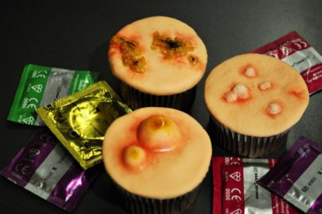 STD cupcakes